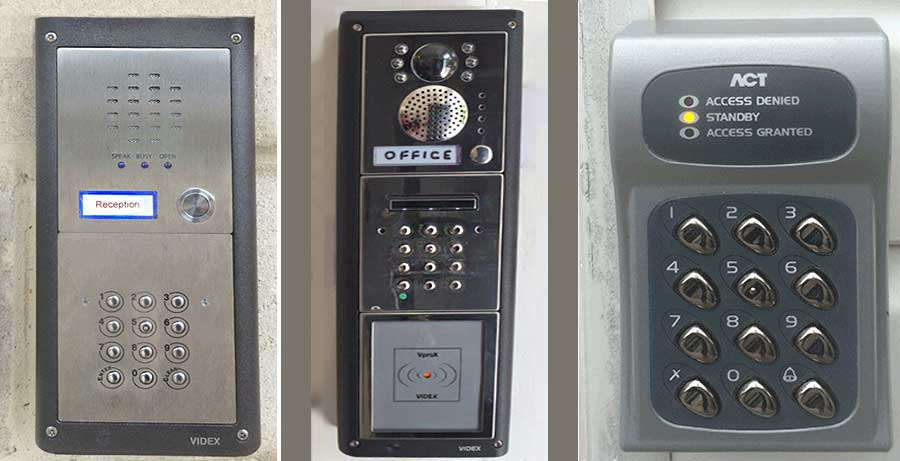 Falcon Security Systems Access Control Door Entry Security Systems